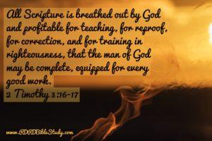 RDRD Bible Study 2 Timothy 3.16.17