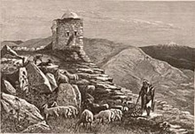 RDRD Bible Study Mount Gerizim Ruins c1880