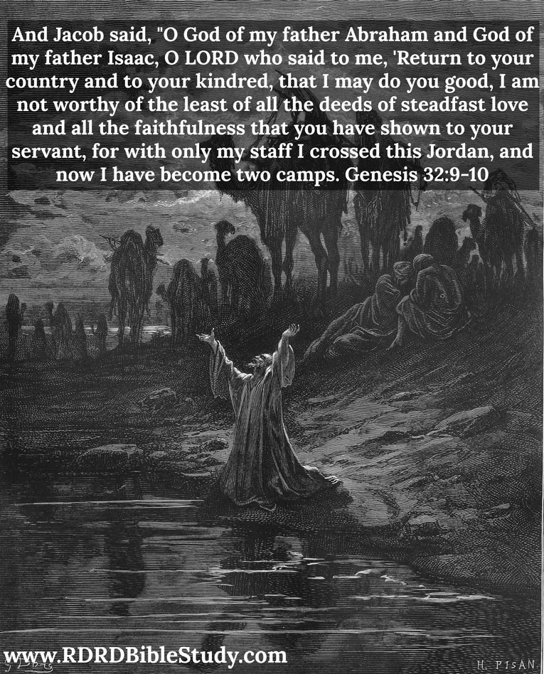 RDRD Bible Study Genesis 32-9-10