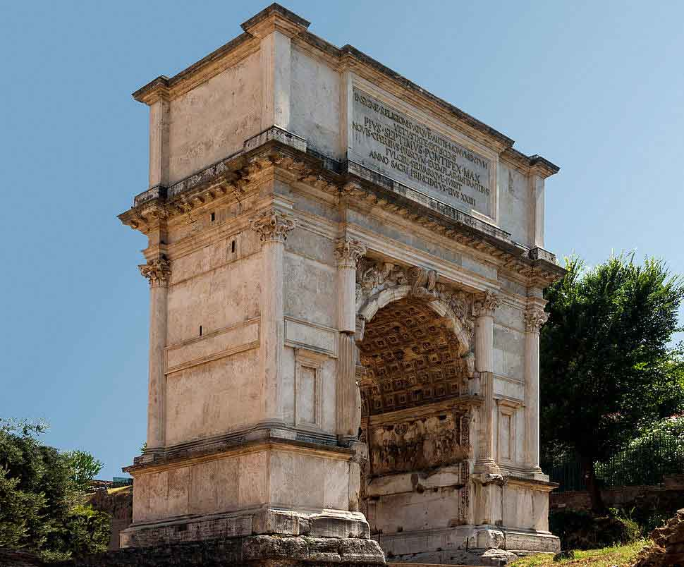 RDRD Bible Study DTM AD 70 Arch of Titus Side