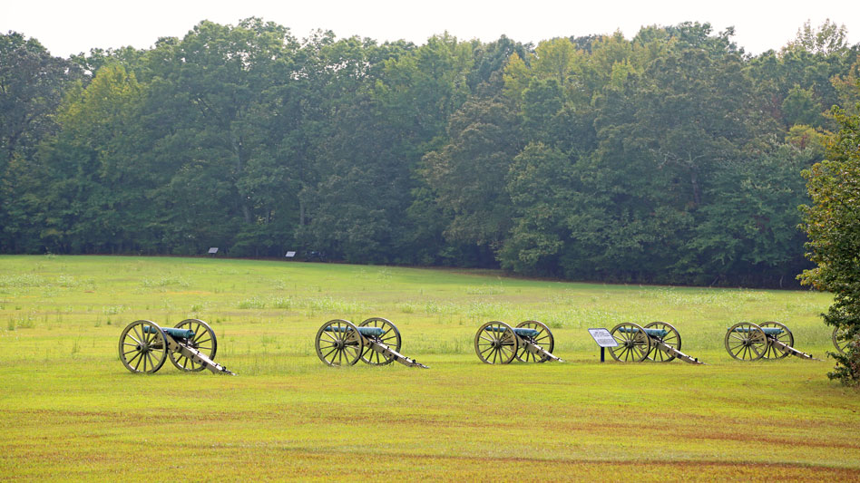 RDRD Bible Study The Right Direction Cannons On The Shiloh Battlefield