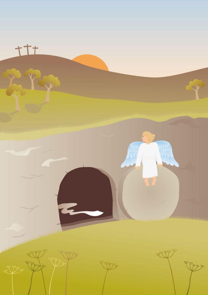 RDRD Bible Study Resurrection Angel Empty Tomb