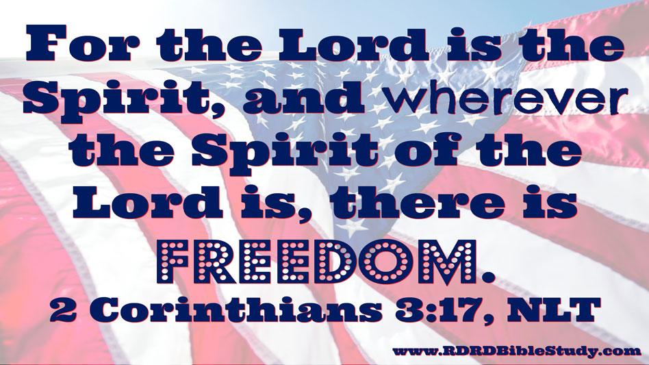 RDRD Bible Study 2 Corinthians 3 17