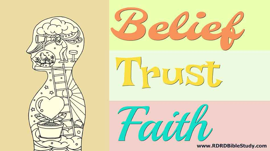 A Simple Framework For Thinking About Belief, Trust, And Faith